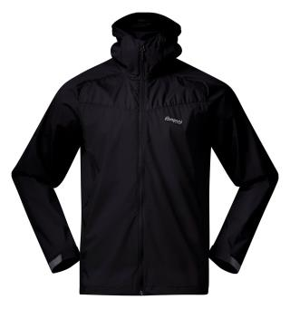 Vindjakke til herre Bergans Microlight Jacket M 3XL Black