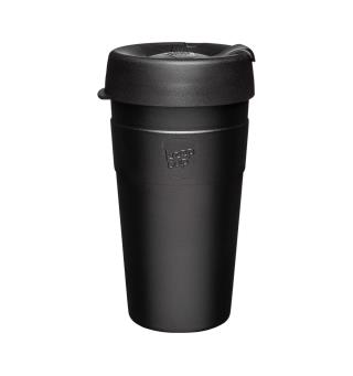 Stor termokopp KeepCup Thermal 4,5 dl Black