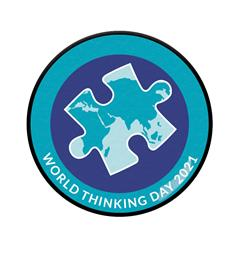 Tenkedagspins 2021 WAGGGS World Thinking Day Pin 2021