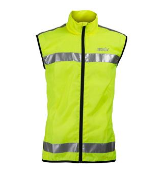 Refleksvest Swix Flash Reflective Vest Yellow
