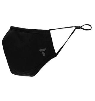 Munnbind med ventil Tufte Face Mask with Valve Black