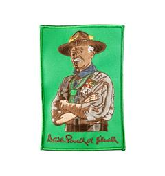 Lord Robert Baden Powell-merke WOSM Lord Robert Baden Powell-merke