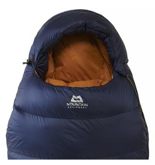 Sommerpose i dun til herre Mountain Equipment Helium 400