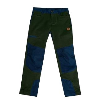 Speiderbukse til barn Tufte Outdoor Pants Kid 5–6 år Deep F