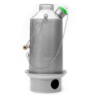 Vedfyrt vannkoker 1,6 l Kelly Kettle Base Camp 1,6