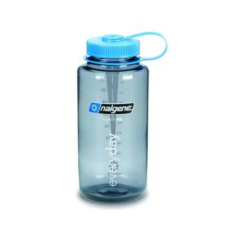 Flaske Nalgene Wide Mouth 1 liter Gray