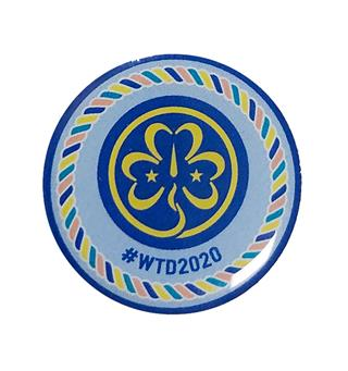 Tenkedagspins 2020 WAGGGS World Thinking Day Pin 2020