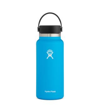 Termoflaske med stor åpning Hydro Flask 32 oz Wide Pacific